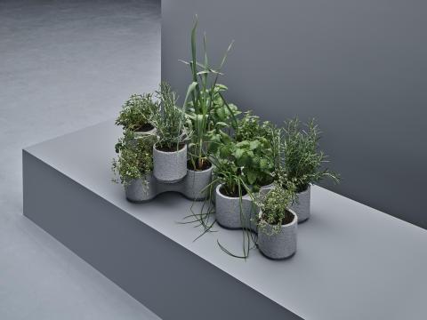 Prototype på det nye samarbejde mellem IKEA og Tom Dixon, Urban farming