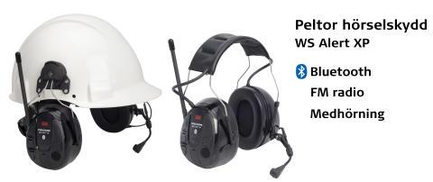 Peltor lanserar nya hörselsskydd, WS Alert XP