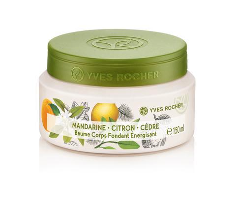 Mandarin Lemon Cedar Energizing Silky Body Balm