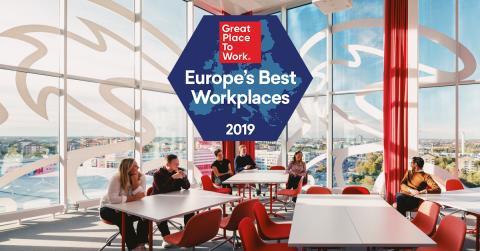 Tre är en av Europas bästa arbetsplatser – igen