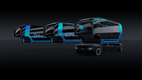 NXT-koncept fra Scania løfter bytransport til nye højder