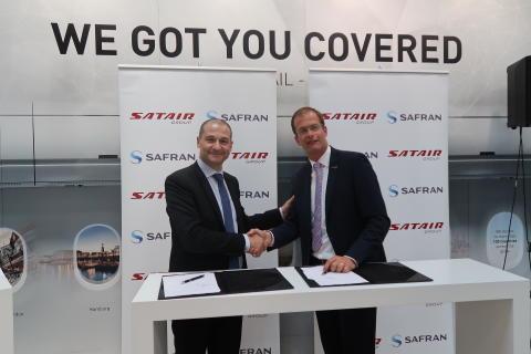 Satair Group signing Safran