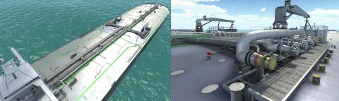 Kongsberg Digital: New 3D Virtual Application for K-Sim Cargo Simulator