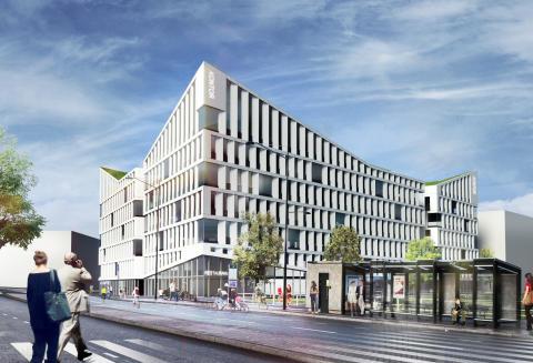 Skanska investerar cirka 200 miljoner kronor i nytt klimatsmart Malmökontor i Hyllie