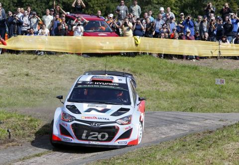 Thierry Neuville and Nicolas Gilsoul