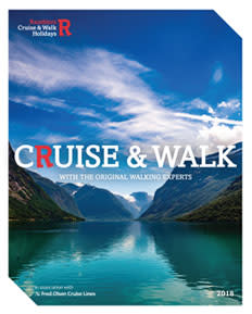 SAIL AWAY ON AN ADVENTURE WITH RAMBLERS WALKING HOLIDAYS  NEW 'CRUISE & WALK' 2018 BROCHURE