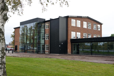 Inredia, ny arena för svensk inredningsdesign, i Tibro