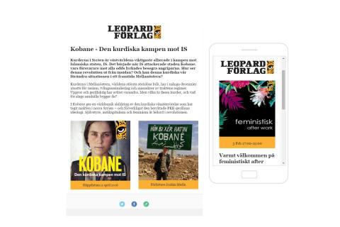 Leopard förlag lanserar inom kort nyhetsbrev