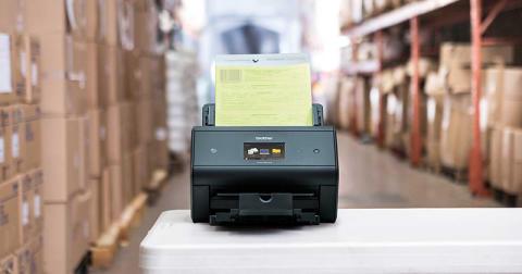 Brother scantechnologie voor het automatisch verwerken van documenten