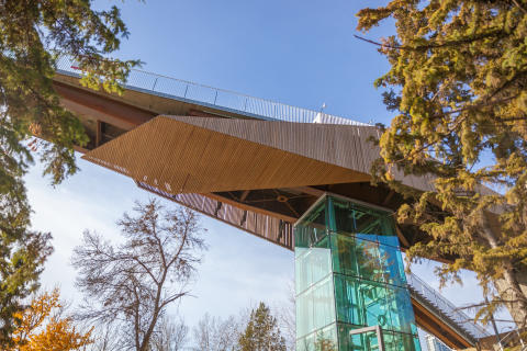 CANADA'S FIRST FUNICULAR OPENS IN EDMONTON