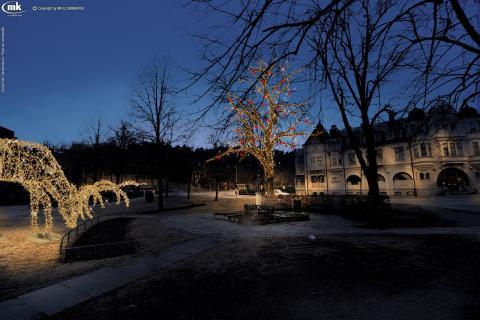 Gemensam satsning på utökad julbelysning i centrum
