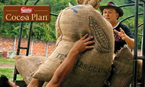 Nestlé Cocoa Plan ger mer hållbar kakao