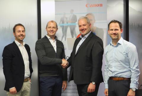 Canon styrker sin digitale satsning mot offentlig sektor med NOARK 5 arkivløsning fra Documaster