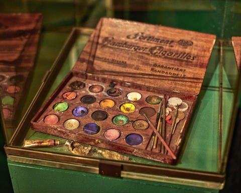 Carl Larssons konstnärsmaterial