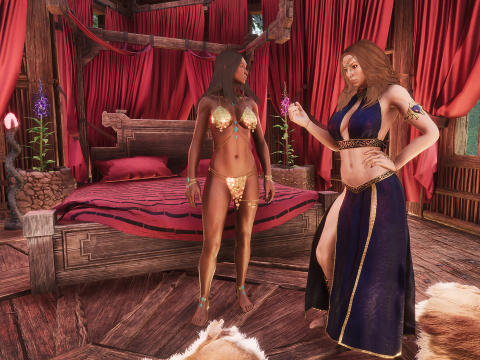 Debaucheries DLC turns up the heat in Conan Exiles