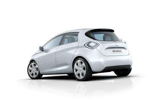 Bilder på Renaults elbilar