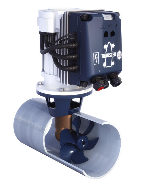 Hi-res image - VETUS - The innovative VETUS BOW PRO Boosted thrusters are at the top of the advanced BOW PRO thrusters range