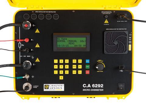 Nyhet! Mikro-ohmmeter med en testström upp till 200 A.