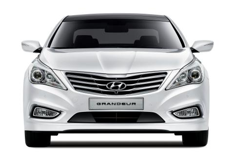 Hyundai Grandeur (front)