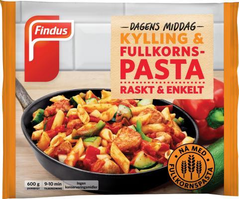 Findus Dagens middag med kylling og fullkornspasta