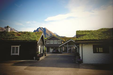 Sagafjord Hotel exterior