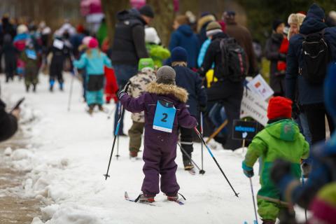 Barnens Vasalopp Stadsparken foto Martin Olson