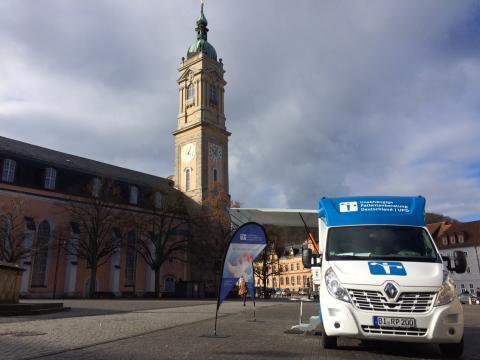 Beratungsmobil der Unabhängigen Patientenberatung kommt am 16. Mai nach Eisenach.