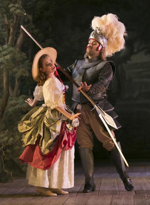 Pressbilder / Press pictures - Orlando paladino - Drottningholms Slottsteater 2012