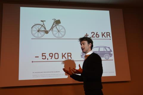 Sykkeldirektør i Oslo kommune, Rune Gjøs