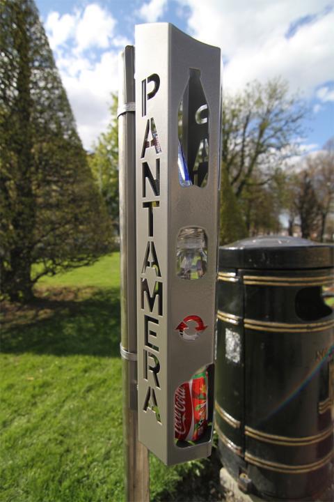 En av tio kommuner pantar mera – Med pantbehållare utomhus
