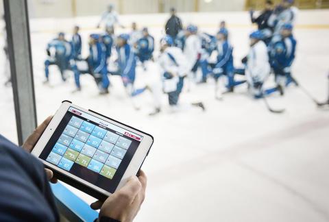 Polar Team-sovellus ja U18 jääkiekkomaajoukkue