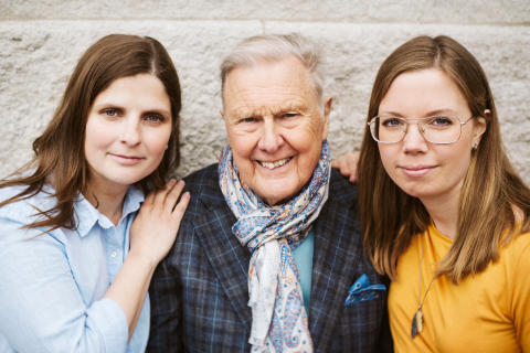 Susanne Tell; Jan Beskow; Filippa Gagnér Janneteg_hogupplost_foto_ Maria Lindeskär