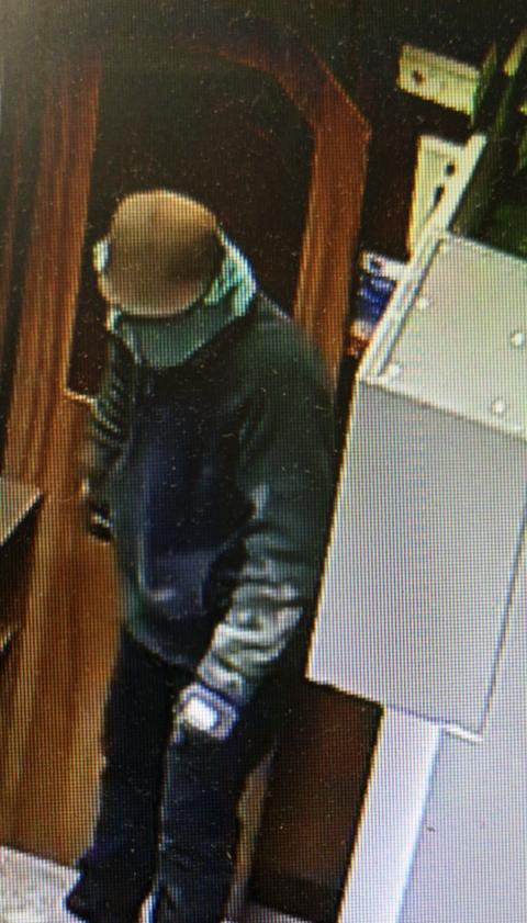 CCTV image released following service station robbery in Petersfield