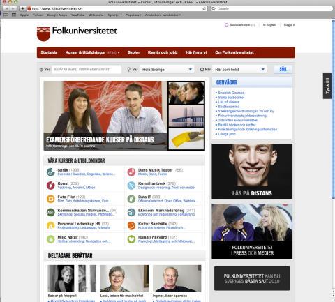 Sveriges bästa webbsajt? Inte än - men vi är på god väg