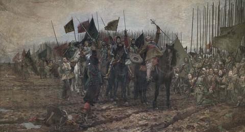 En målad historia. Svenskt historiemåleri under 1800-talet på Göteborgs konstmuseum