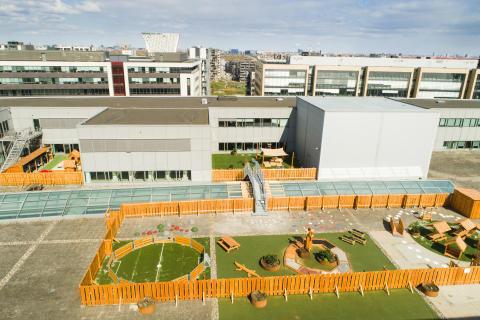 Legeplads på FIELD'S Rooftop