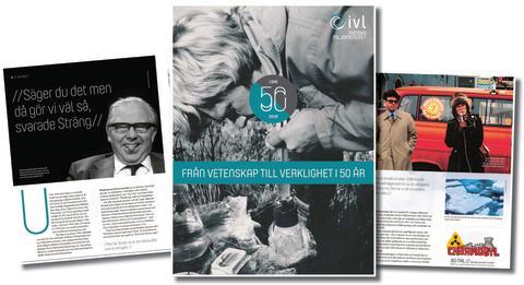 50 år i miljöns frontlinje – IVL lanserar jubileumsskrift