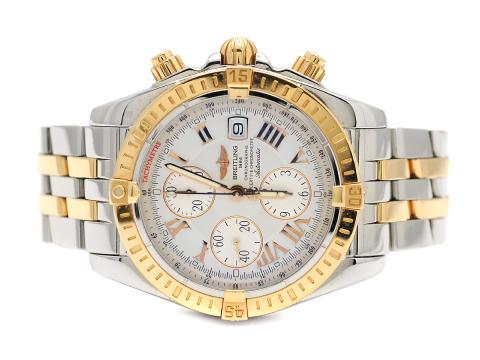 "Klockor 4/10, Nr: 14, BREITLING, Chronomat Evolution, ""Tachymetre"", Chronometre"