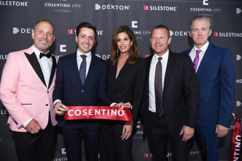 Cosentino feirer storslagen åpning av Los Angeles City Center med moteikonet Cindy Crawford