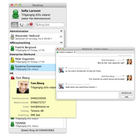 Nyheter i Telavox Desktop 3.1