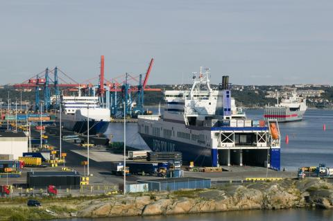 DFDS and Cobelfret in Gothenburg
