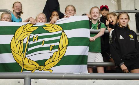 Hammarby IF FF och Hammarby Damfotboll slår samman ungdomsverksamheterna
