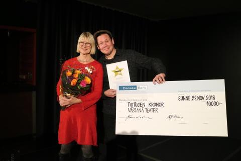 Västanå Teater vinnare av Värmlands Turismpris 2018