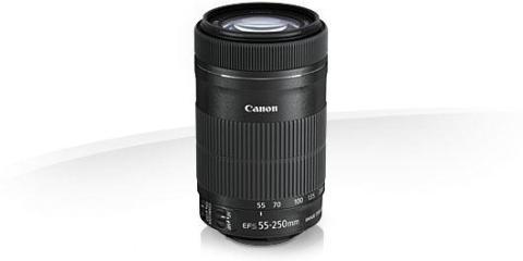 Kom tettere på motivet  – Canon lanserer nye EF-S 55-250mm f/4-5.6 IS STM