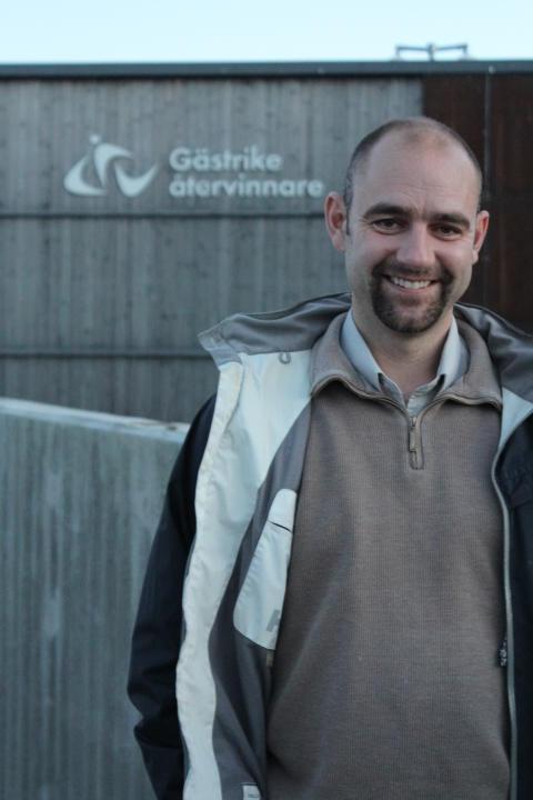 Ny ordförande i Gästrike återvinnares styrelse