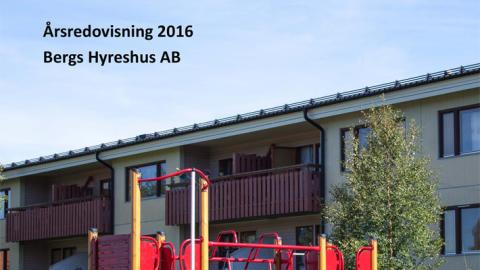 Resultat och årsredovisning 2016