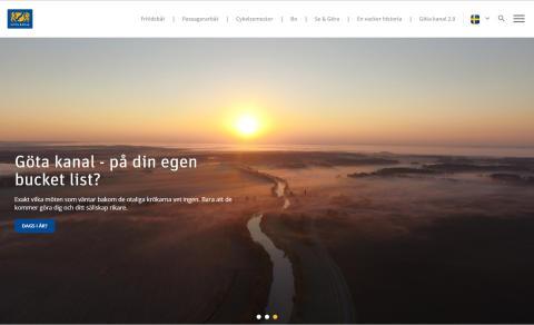 Göta kanal - ett år med Basetool Destination Web