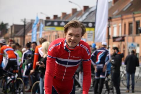 Tobias Foss før Flandern Rundt U23