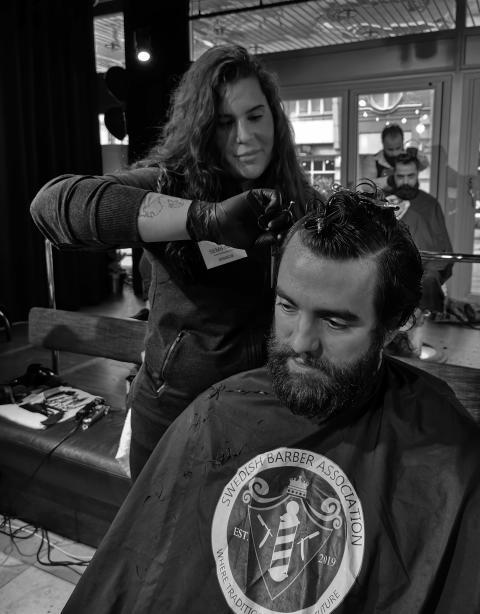Jessica Dieno, Old Town Barbershop, Stockholm