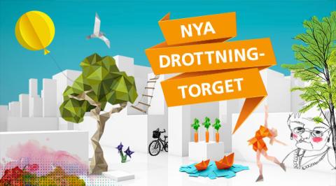 Tema utformar nya Drottningtorget i Trollhättan